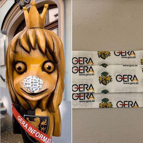 Link zur Facebookseite der Gera Information.