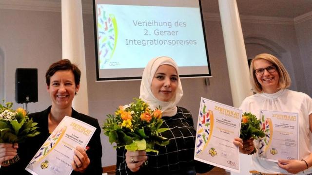 Verleihung 2. Geraer Integrationspreis