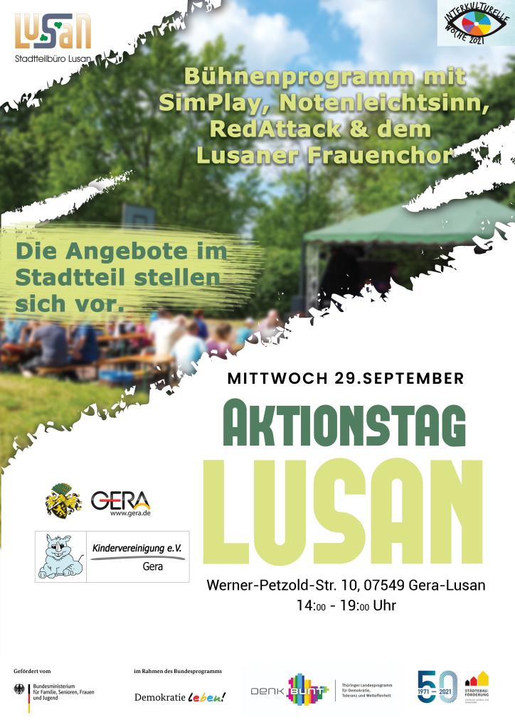 "Plakat ""Aktionstag Lusan"""